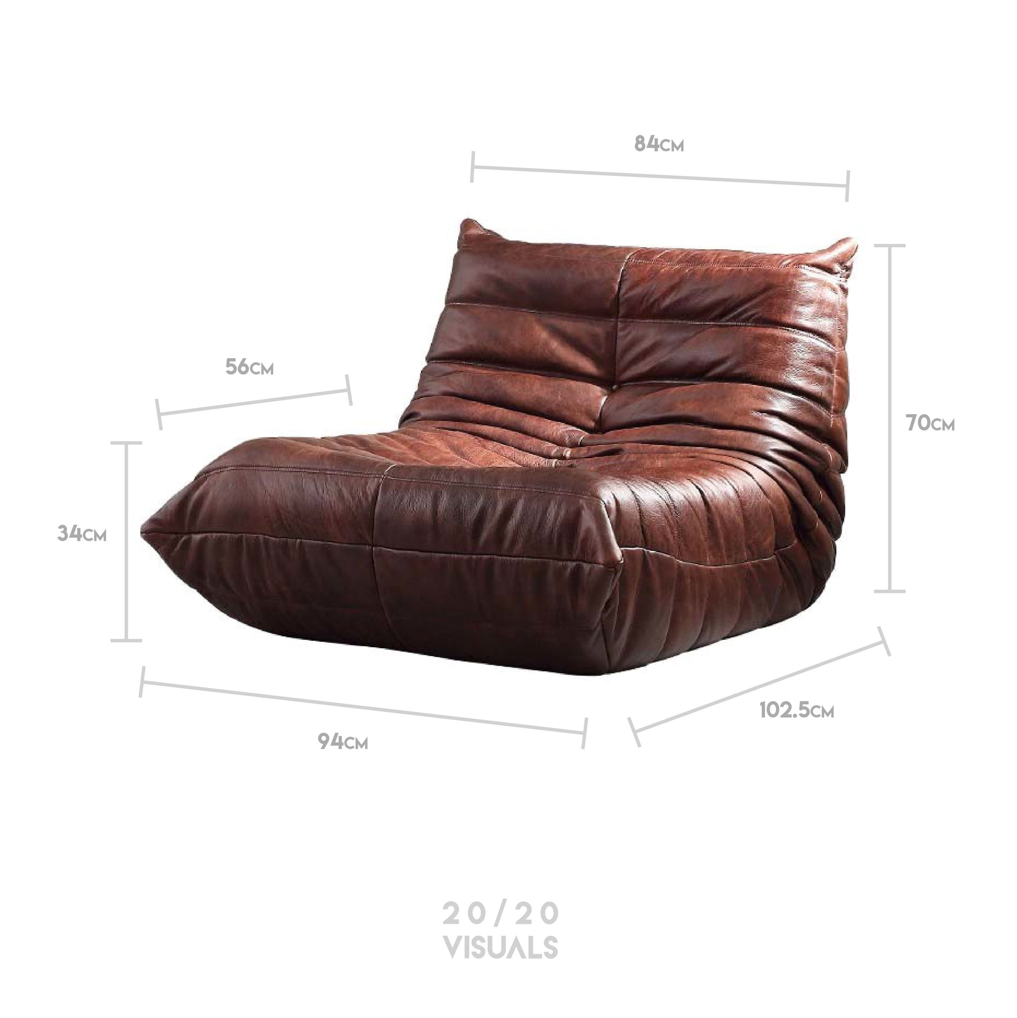 Ruched Sofa