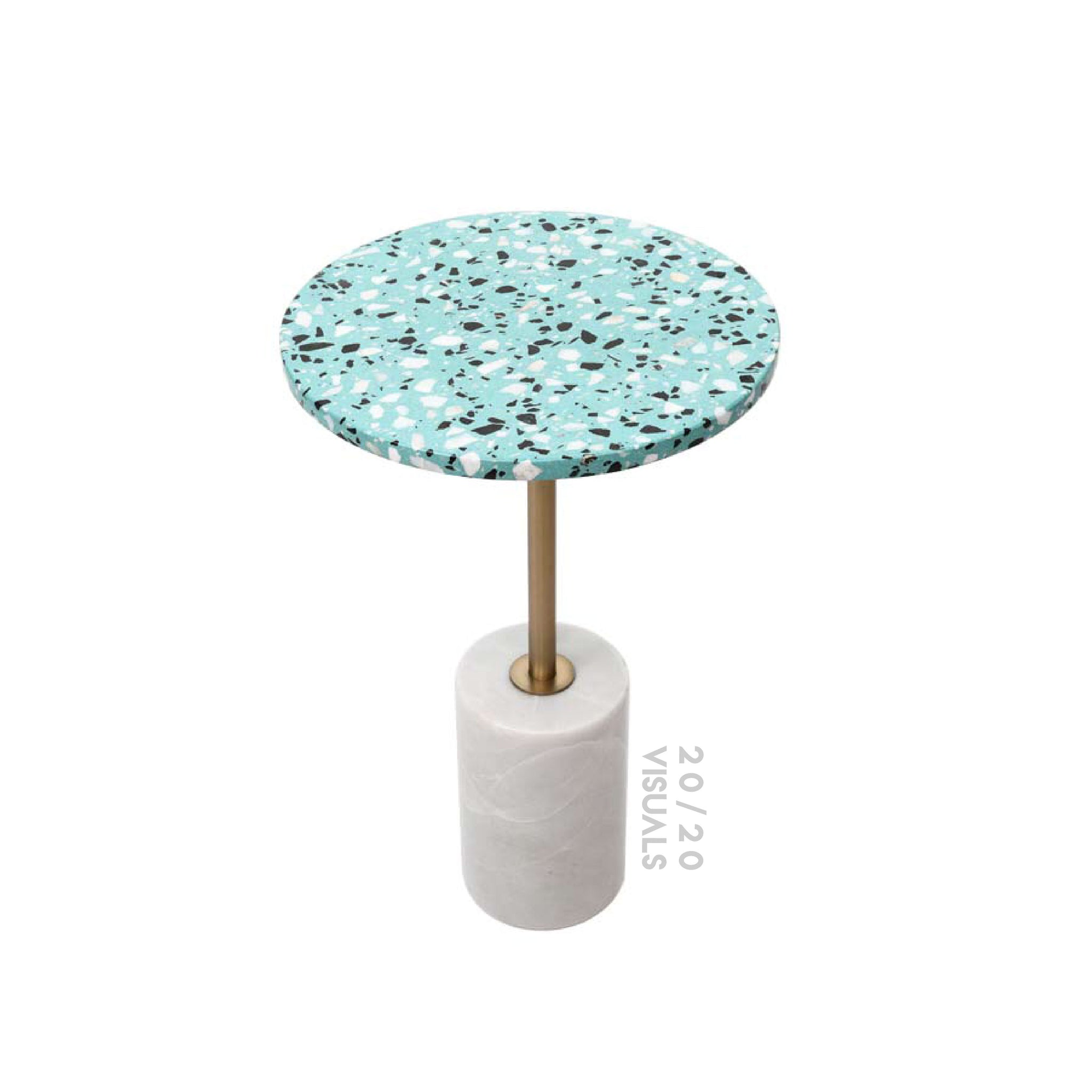 Terrazzo-top Cafe Table