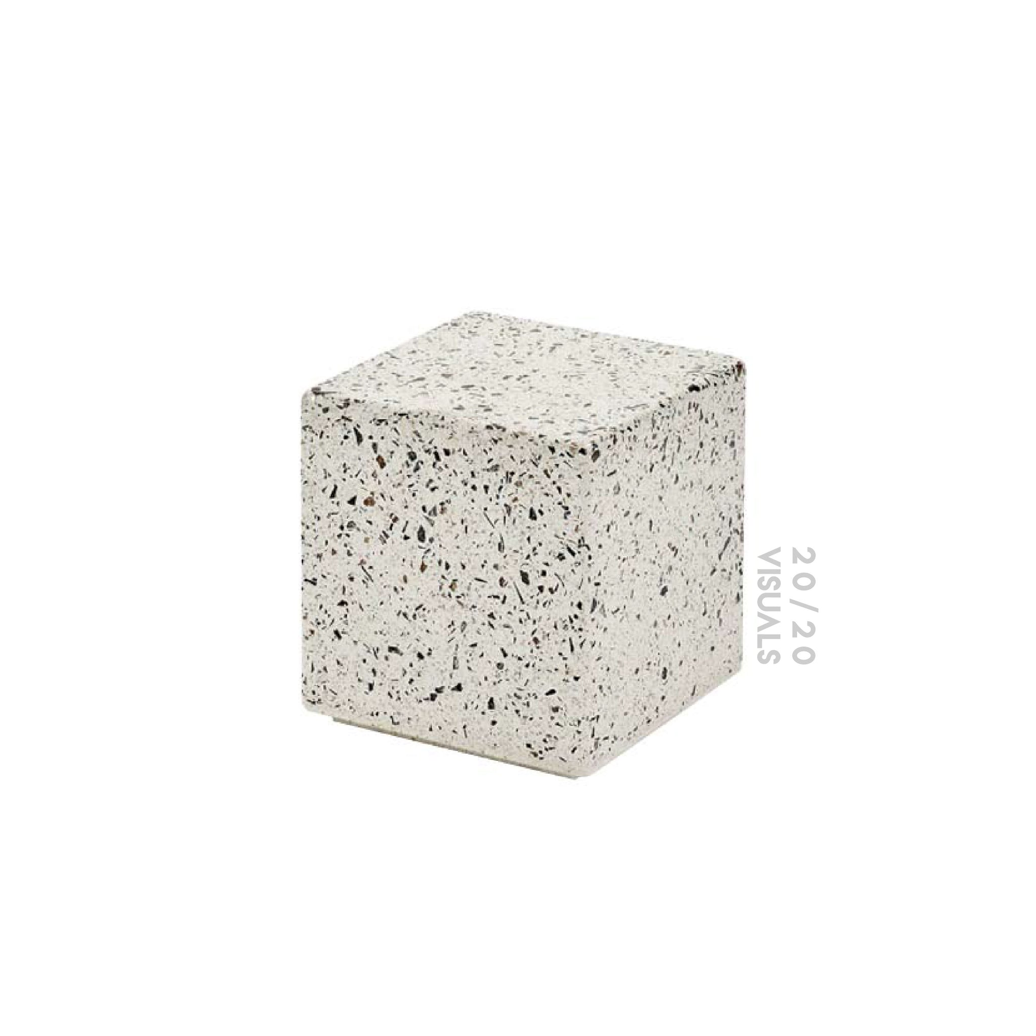 Terrazzo Block Side Table