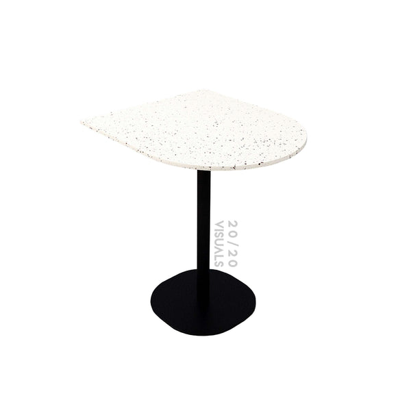 Wall-side Terrazzo Cafe Table