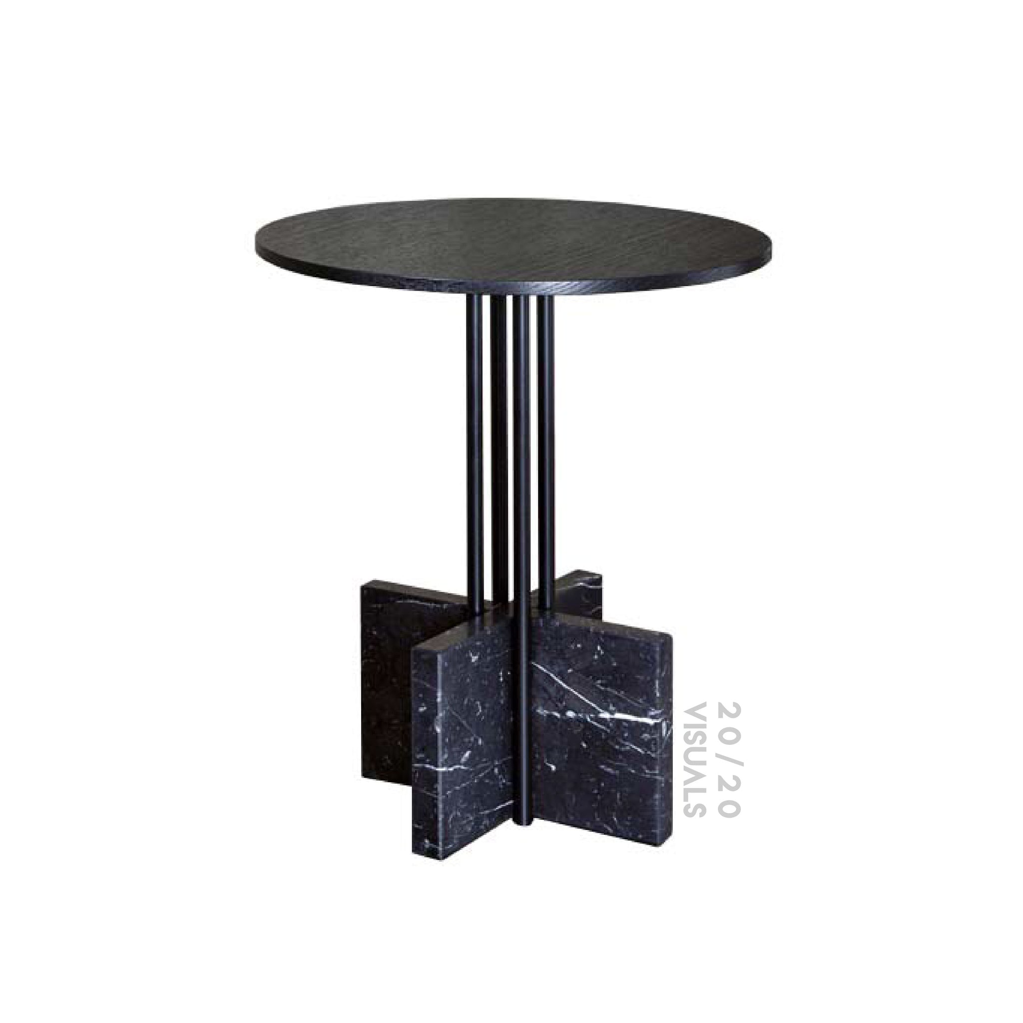 X-mark Side Table