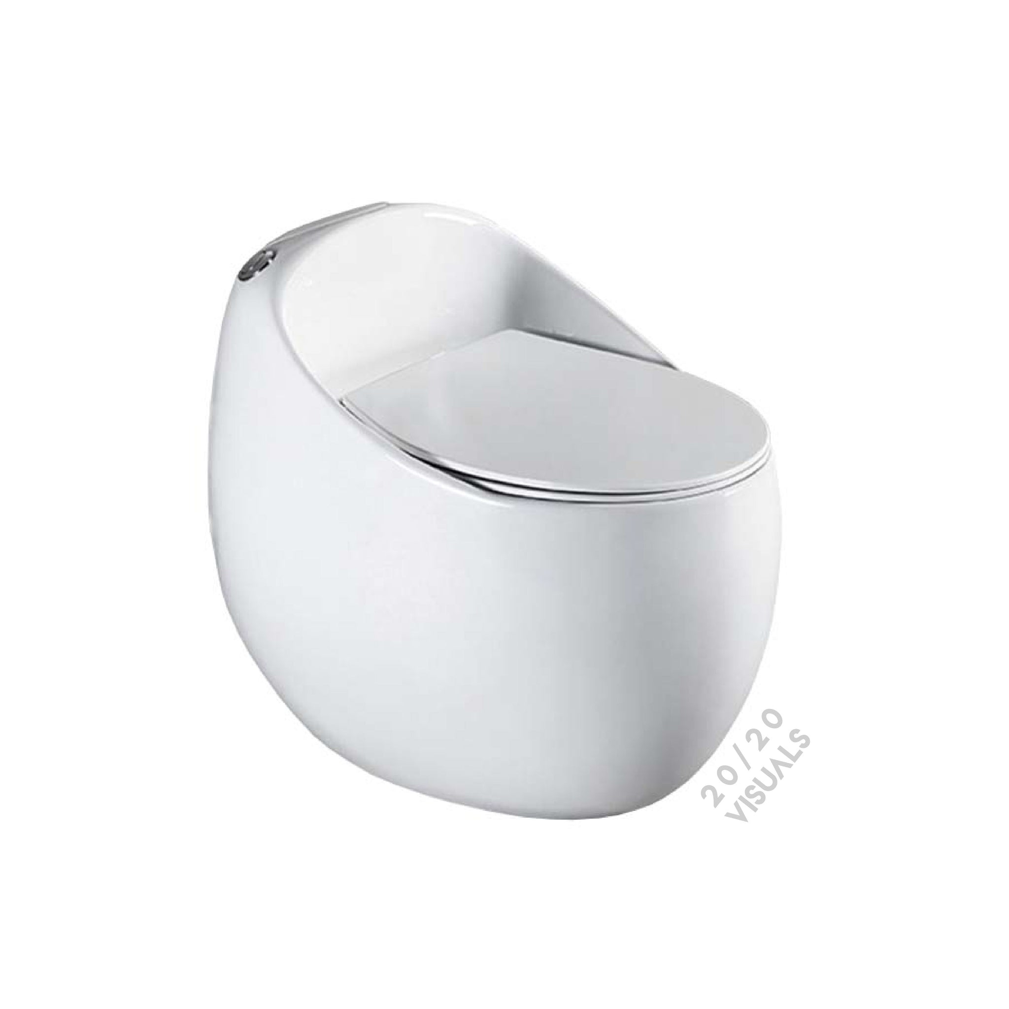 Egg Shaped Toilet