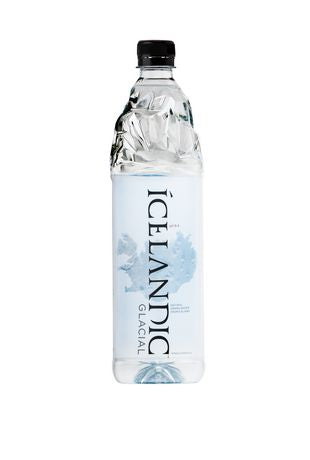 Icelandic Glacial Natural Spring Water, 1000 Milliliter, 12 Count