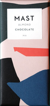 MAST BROTHERS Almond Butter Chocolate 28G