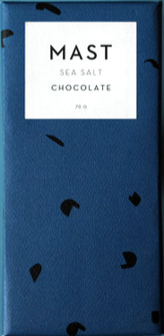 MAST BROTHERS Sea Salt Chocolate 70G