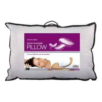 Duck Feather Pillow - Bed and Bath Emporium Ltd