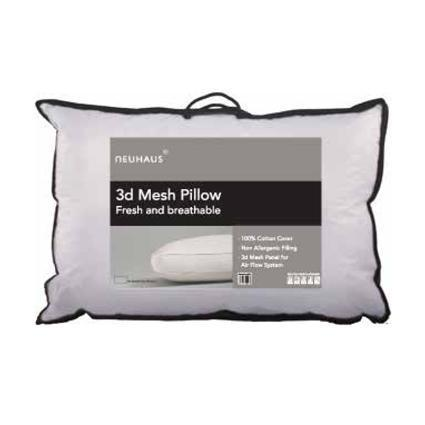 Breathable 3D Mesh Pillow - Bed and Bath Emporium Ltd