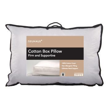 Cotton Box Pillow, Pair - Bed and Bath Emporium Ltd