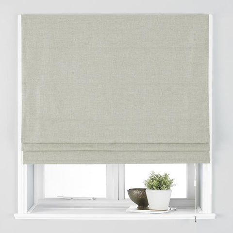 Atlantic Roman Black Out Blind, Natural - We Sell Sleep
