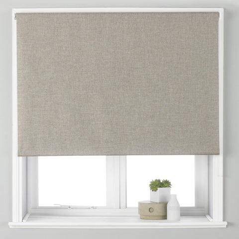 Black Out Roller Blind Eclipse, Natural - We Sell Sleep