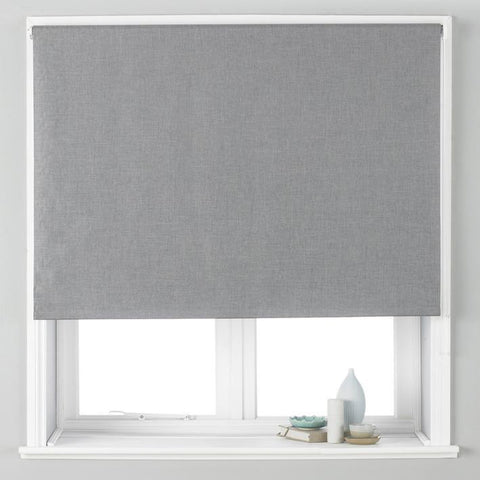 Black Out Roller Blind Eclipse, Silver - We Sell Sleep