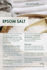 Epsom Salts Traditional (available in 750g & 1.5KG) - We Sell Sleep