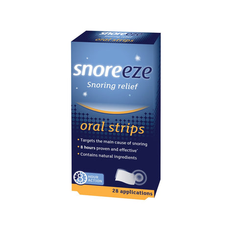 Snoreeze Snoring Relief Oral Strips - We Sell Sleep