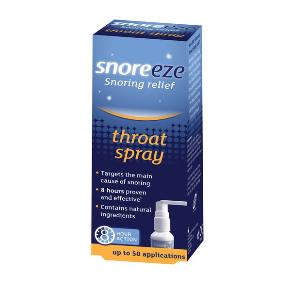 Snoreeze Snoring Relief Throat Spray - We Sell Sleep