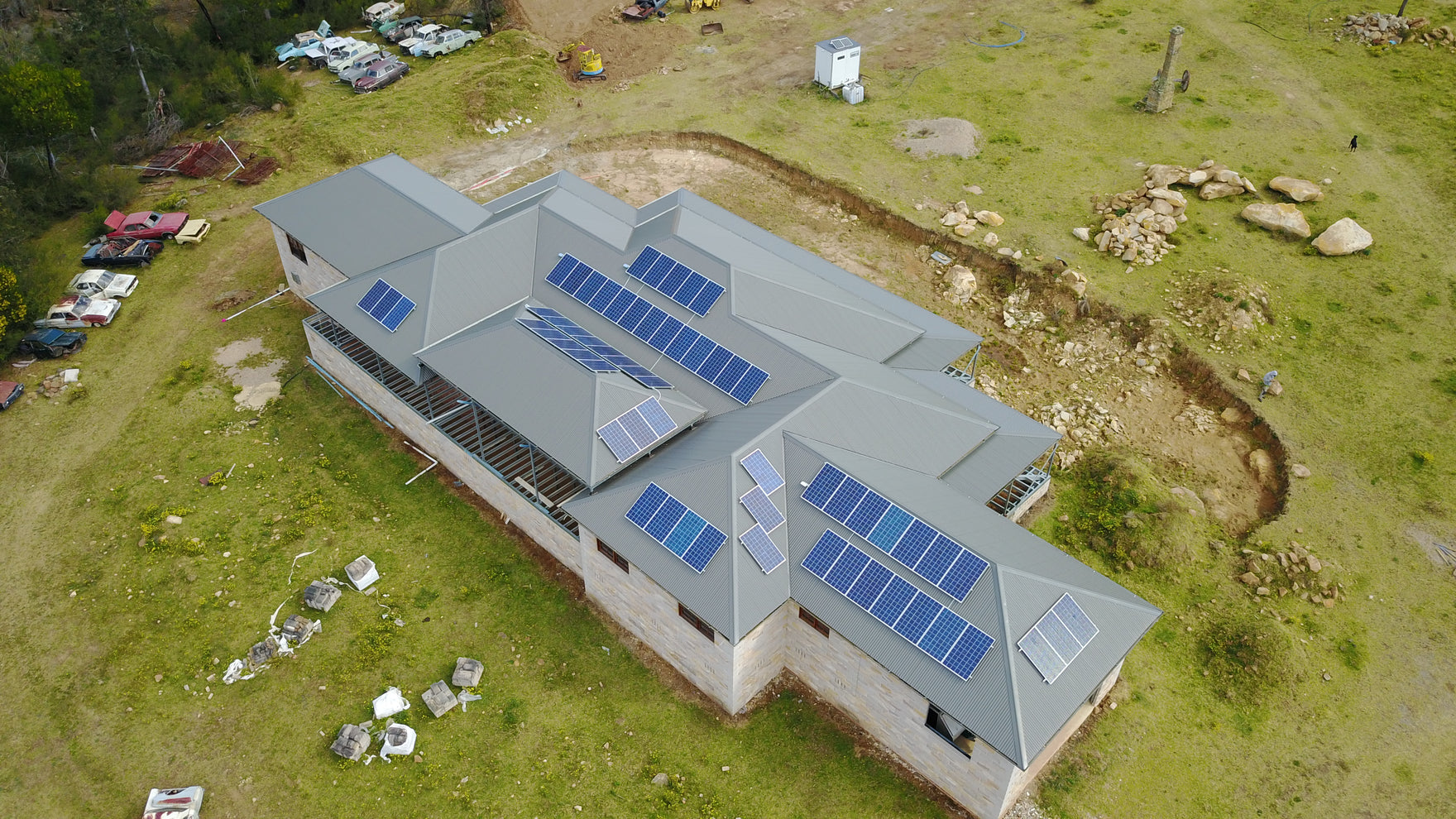 Thirlmere NSW -  25kw Opal Smart Tigo DC Optimised Panels with SMA tri-power Inverter