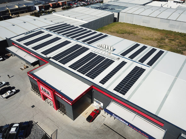 200kw Installation at ARB Narellan