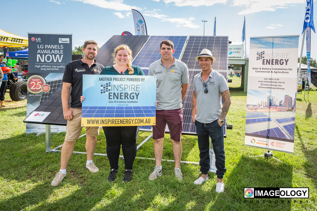 Inspire Energy joins the Camden Show 2019 as Grand Champion Sponsors!