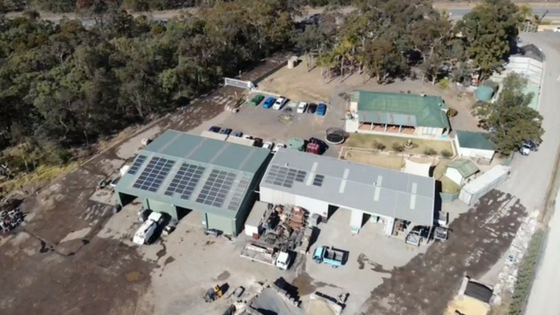 30kw System Installed at Raygal Landscape and Nursery Supplies in Cranebrook, NSW