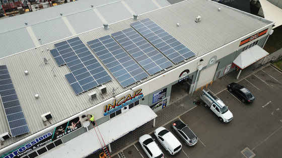 30kw System Installed at In Car Audio & Security at McGraths Hill