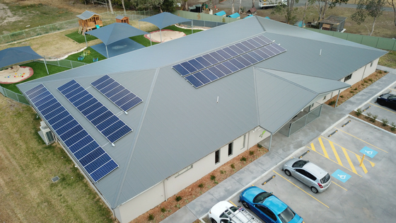 21kw System Installed at Leaping Learners Childcare Centre in Leumeah