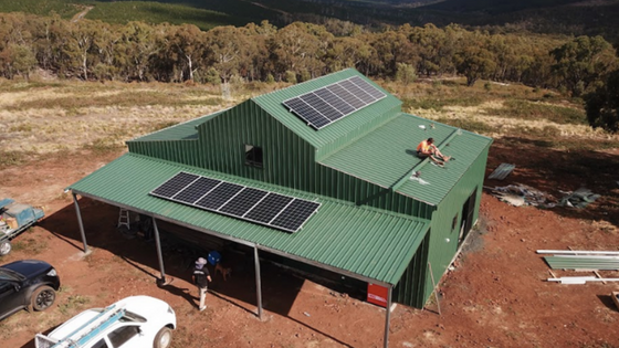 Isabella NSW - Off Grid System