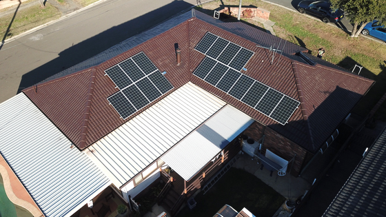 Smithfield NSW - 5.3kw Panels with 6.5kw Opal Storage