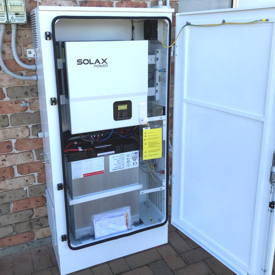 13kw Opal Storage LG Chem Battery System (installed with 5kw Solar System)