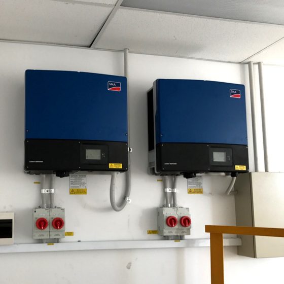 Marrickville NSW - 2 x 25kw SMA Sunny Tri-power Inverters