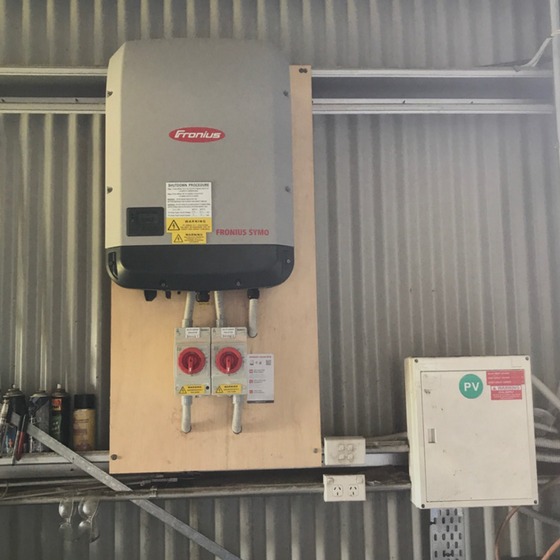 Fronius Inverter Installation