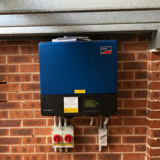 Thirlmere - Inverter Installation