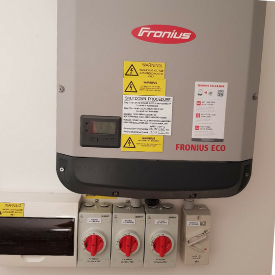 Fronius Symo Inverter Installation