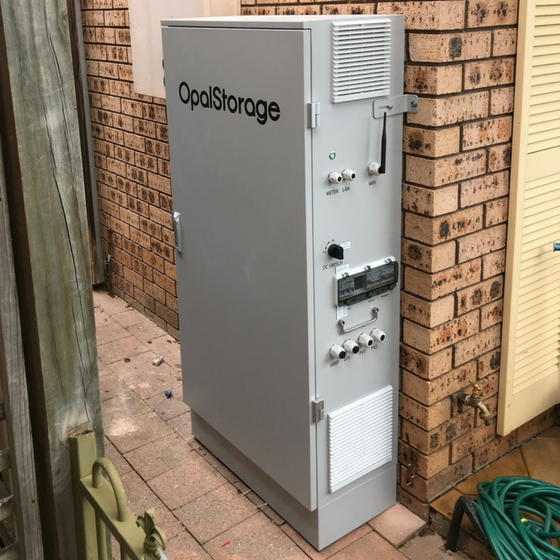 Mt Hunter NSW - 13kw Opal Storage