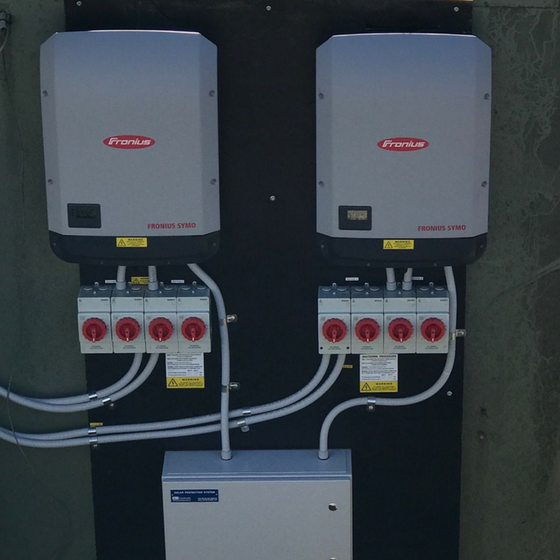 50kw Fronius Inverter Installation