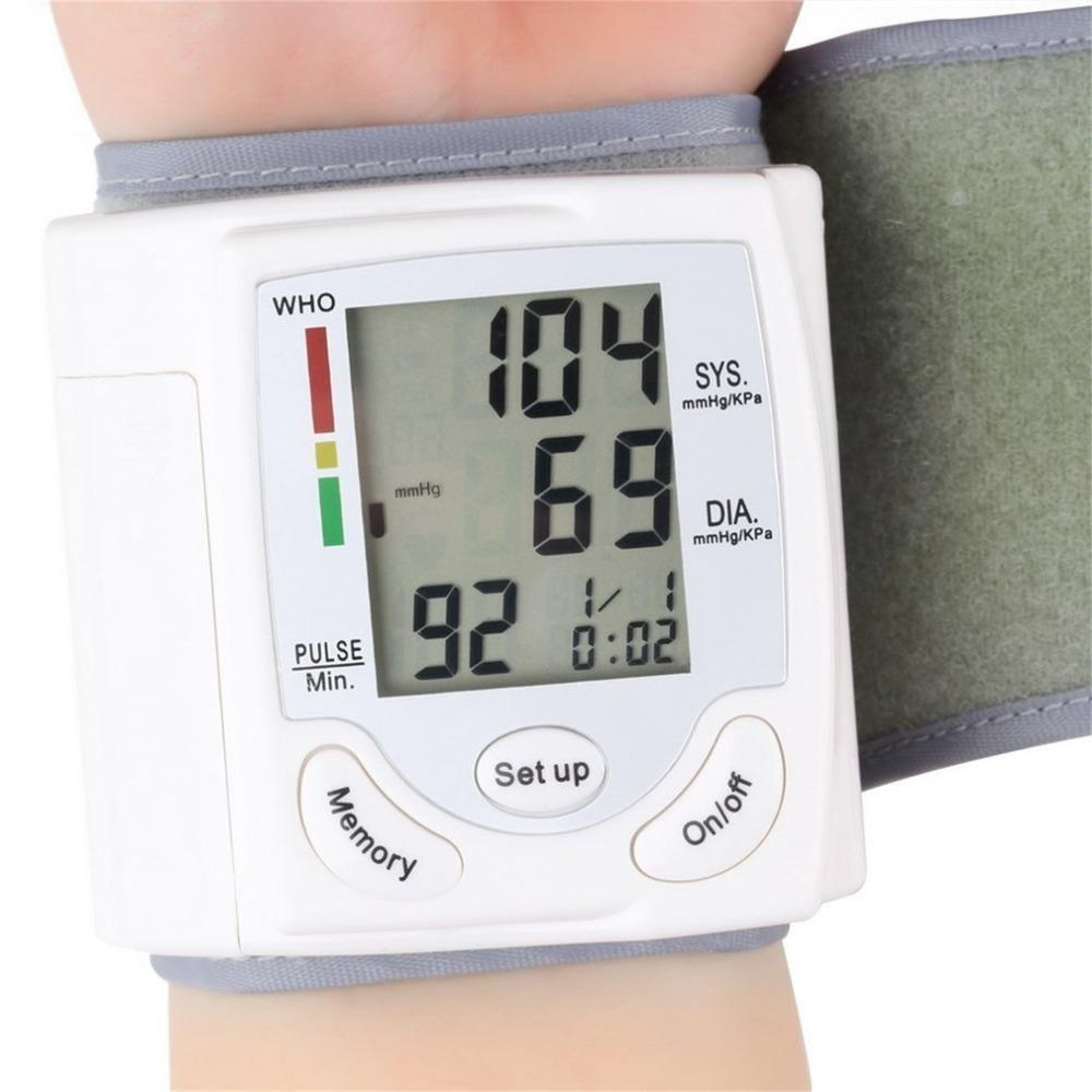 Blood Pressure - Health Care Digital Wrist Blood Pressure Monitor