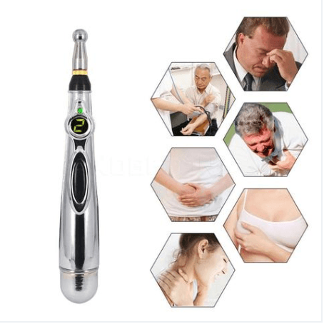Massage & Relaxation - Electric Acupuncture Magnet Laser Pen