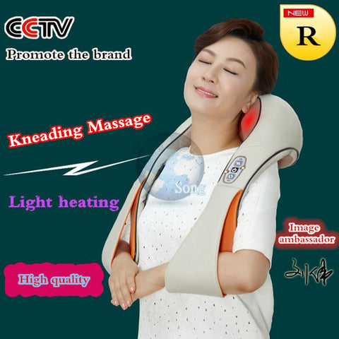 Massage & Relaxation - U Shape Electrical Shiatsu Back Neck Shoulder Massager