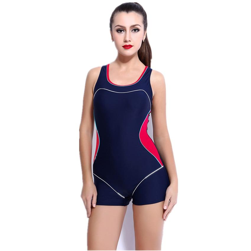One-Piece Suits - One Piece Swimsuit Sport Bodybuilding Swimwear Women Bathing Suit