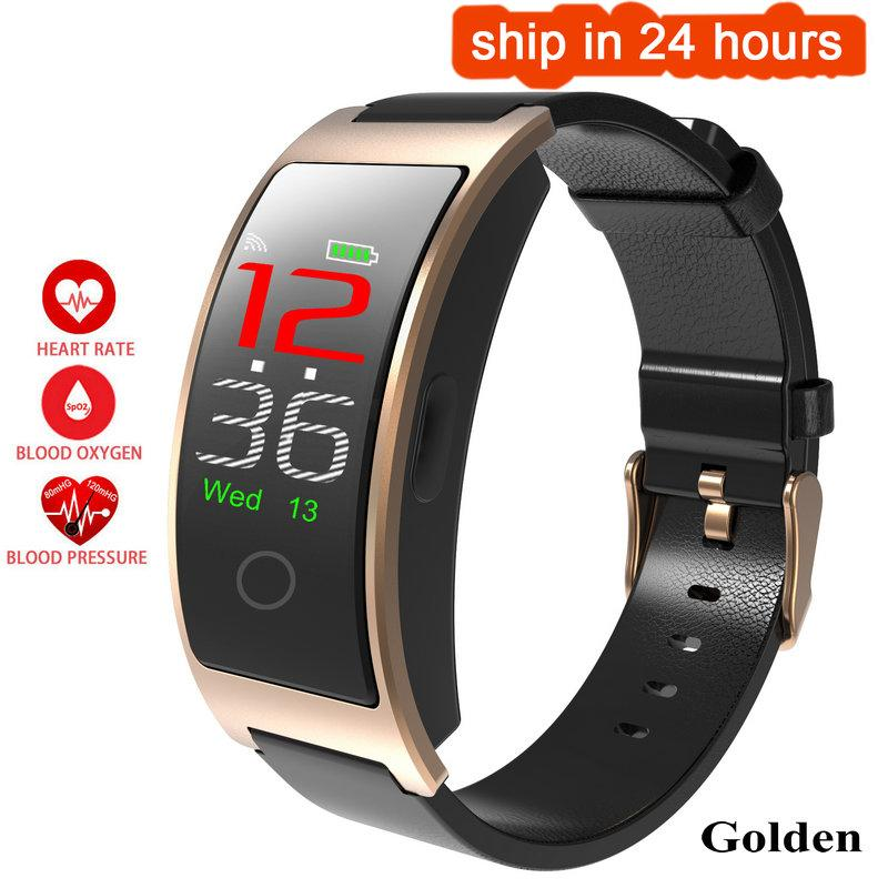 Smart Wristbands - SH Smart Watch Blood Pressure Heart Rate Monitor