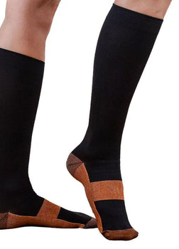 Miracle Copper Compression Socks Anti Fatigue Buy at least 3 to get Huge Discount