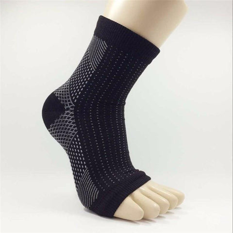 Socks - SH Ankle Heels Compression Socks Open Toe