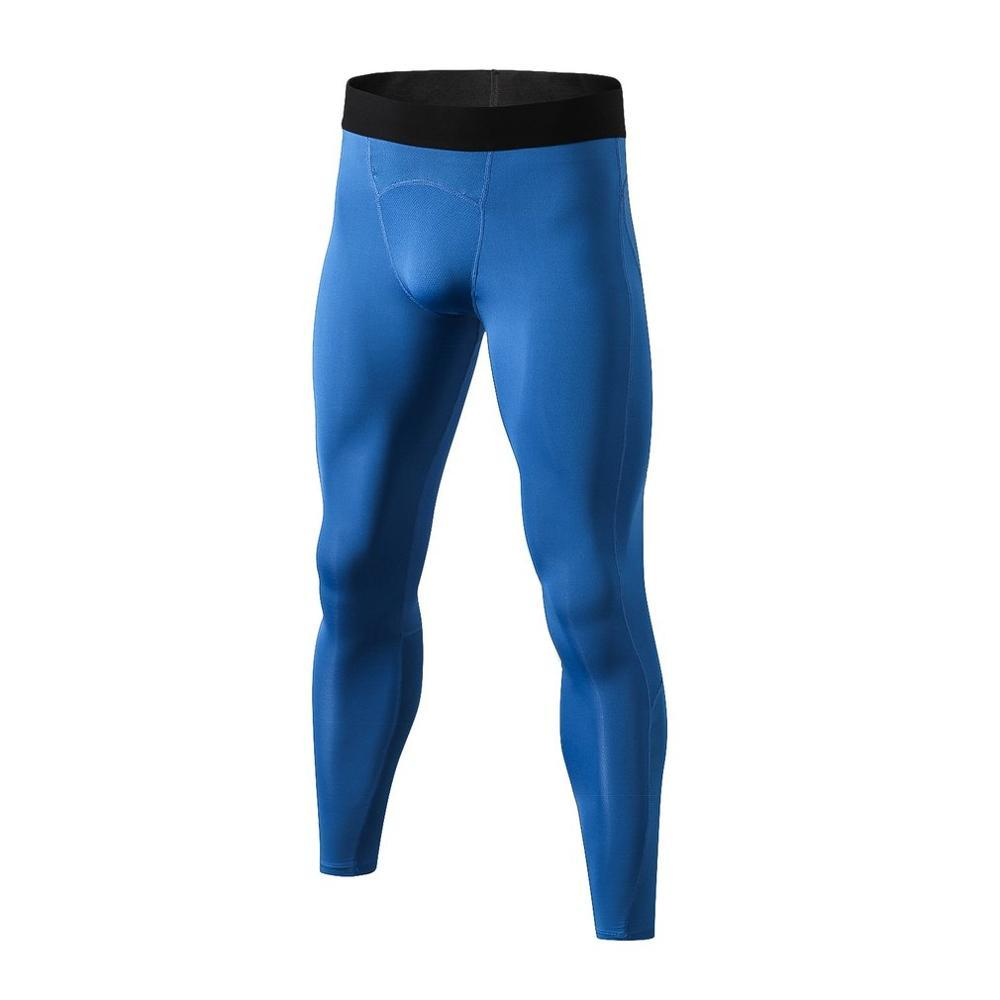 Trainning & Exercise Pants - SH Breathable Men Compression Gym Pants