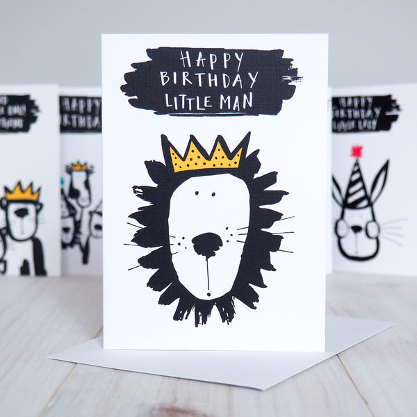 Birthday Lion Boy's Birthday Card