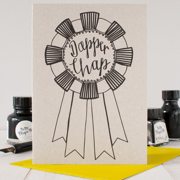 Dapper Chap card