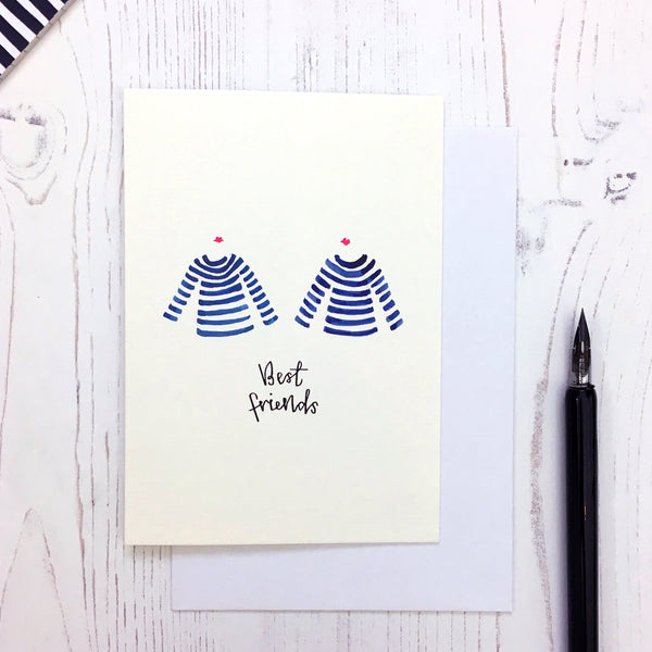 Breton Best Friend card © Betty Etiquette 2018