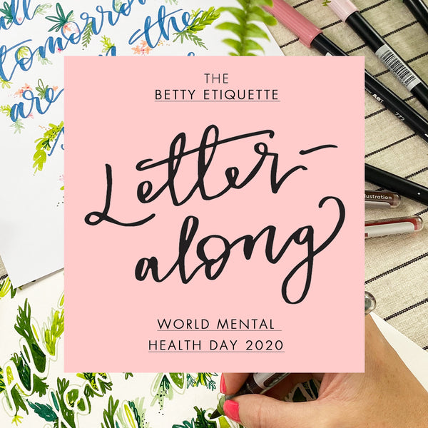 World Mental Health Day 2020 Letter-along