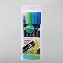Tombow ABT Dual Brush Pen Ocean Set