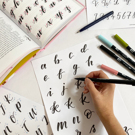 17 October 2020 - Online Introduction to Brush Lettering Workshop