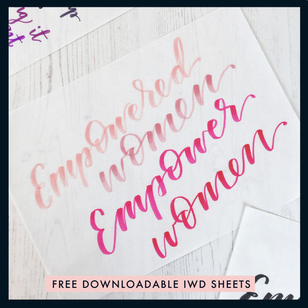 Empowered Women Printable #IWD2020
