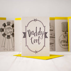 Daddy Cool card