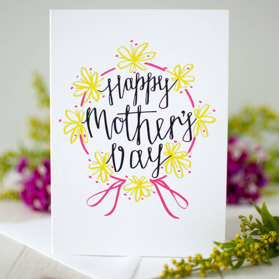 Happy mothers day card betty etiquette happy mothers day card kristyandbryce Image collections